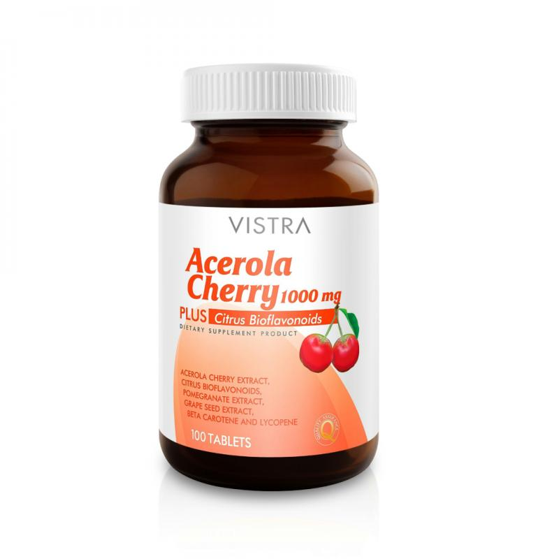 VISTRA Acerola Cherry 1000 mg