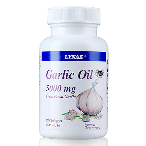 LYNAE Garlic Oil 5000mg. 100เม็ด