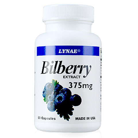 LYNAE BILBERRY 375  MG
