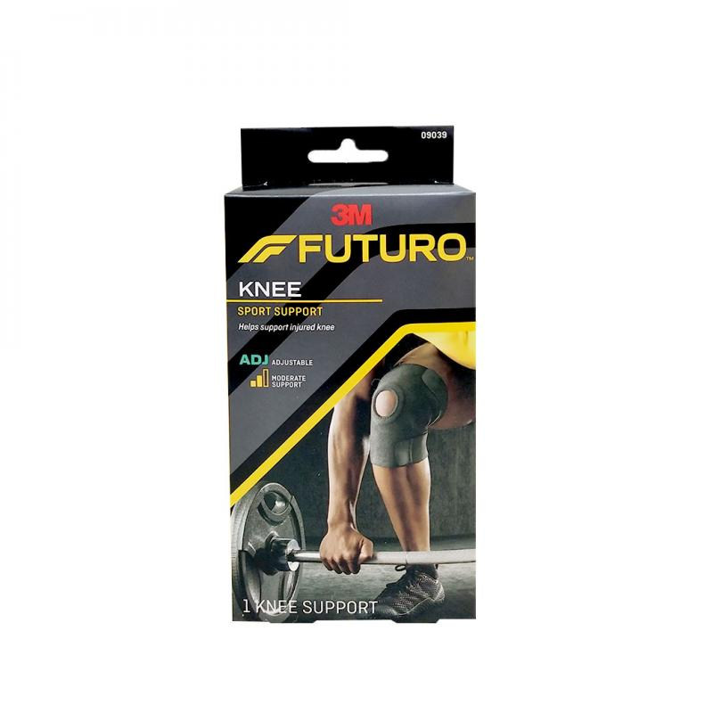FUTURO Sport Adjustable Knee Support(ปรับได้) สีดำ 09039