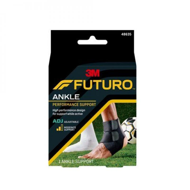 FUTURO Sport Adjustable Ankle Support ดำ