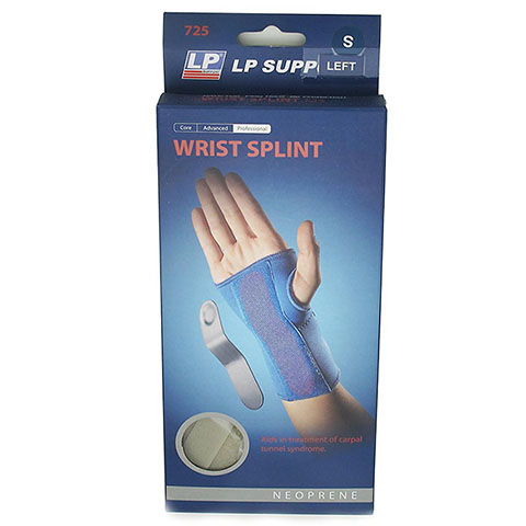 LP SUPPORT Wrist Splint  (Left 725)  สีเนื้อ