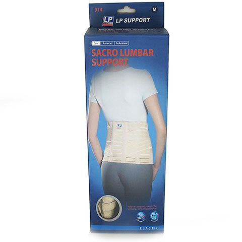 LP SUPPROT SACRO LUMBAR SUPPORT (914)  สีเนื้อ