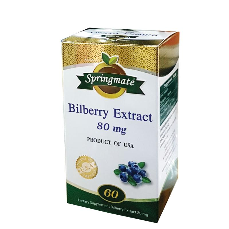 Springmate Bilberry 80mg