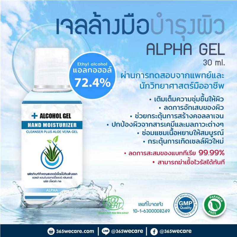 Phannachat Alcohol Hand Gel 72.4%