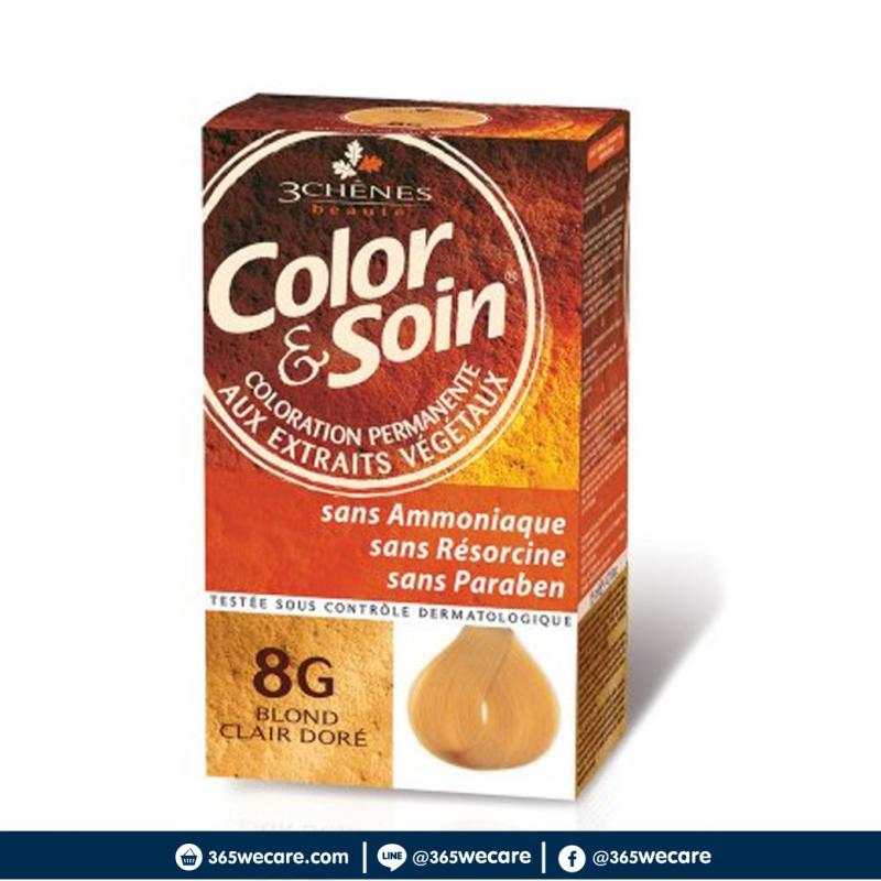 Color&Soin 8G Blond Clair Dore 135ml.