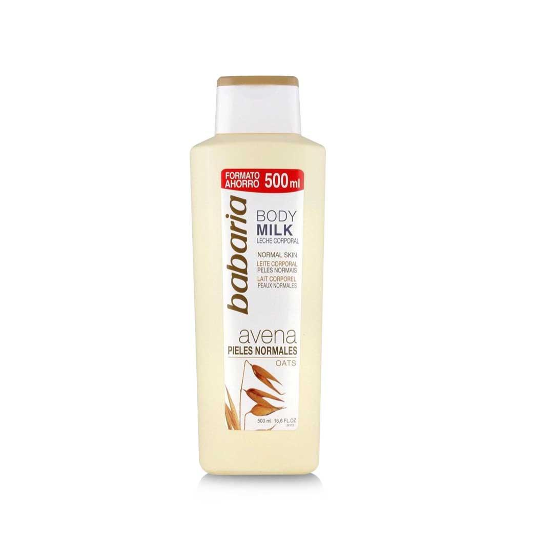 Babaria Body Milk Oats Normales 500ml. - 365wecare