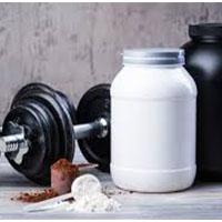 เสริมสร้างกล้ามเนื้อและเวย์โปรตีน