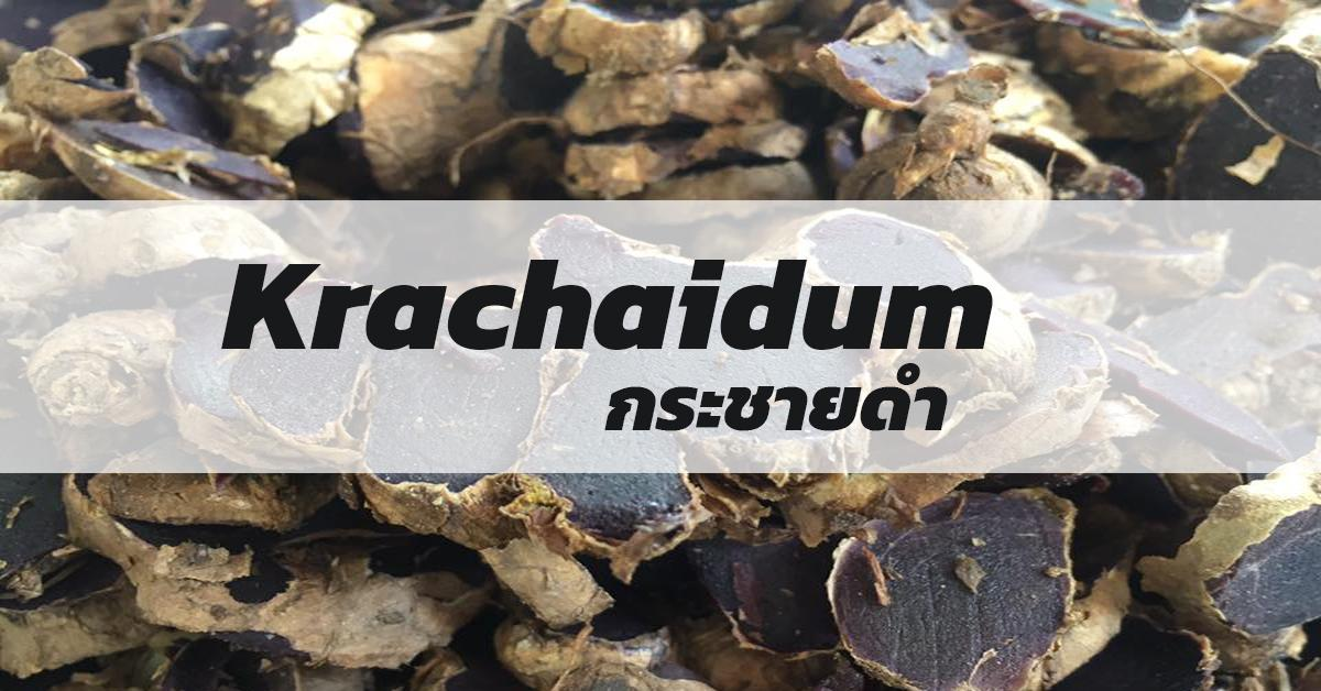 Krachaidum (กระชายดำ)