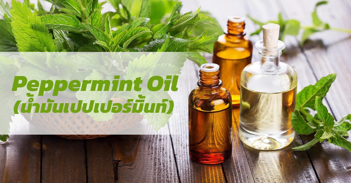 Peppermint Oil (น้ำมันเปปเปอร์มิ้นท์)