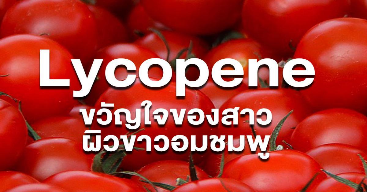 Lycopene (ไลโคพีน)