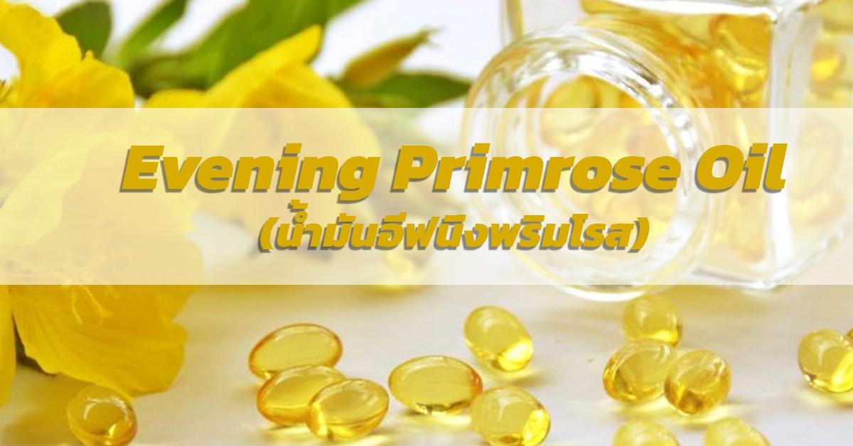 Evening Primrose Oil (น้ำมันอีฟนิ่งพริมโรส)