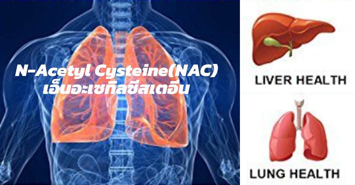 N-Acetyl Cysteine(NAC) (เอ็นอะเซทิลซีสเตอีน)
