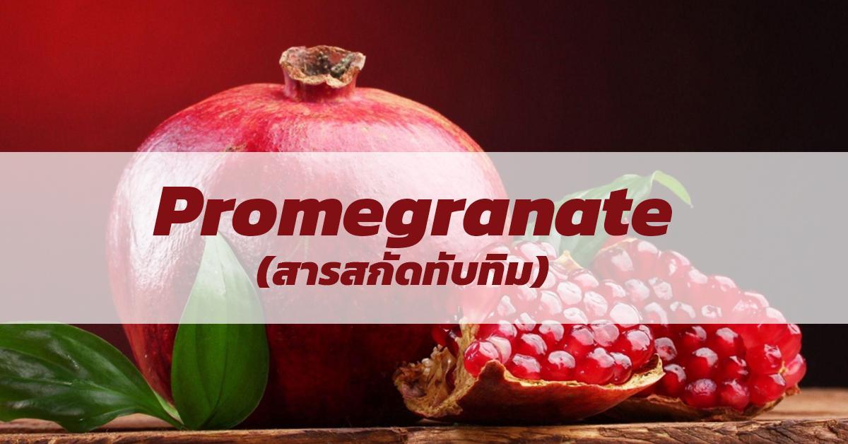 Promegranate (สารสกัดทับทิม)