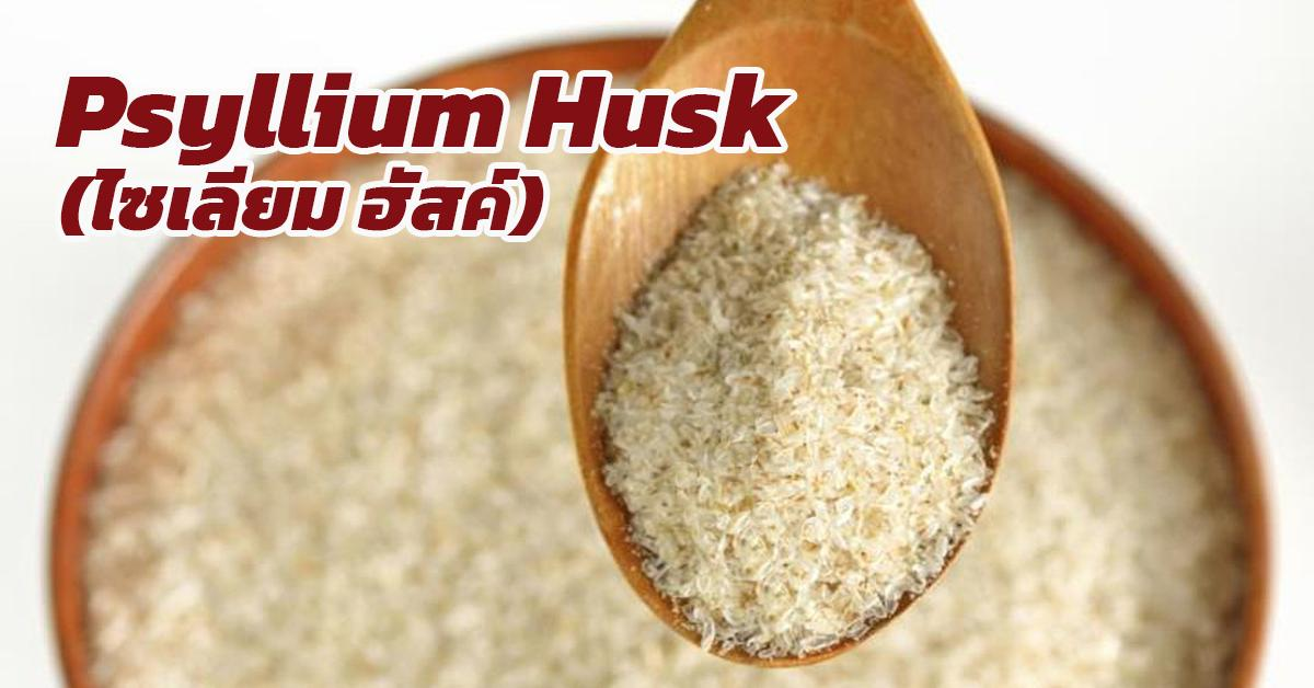 Psyllium Husk (ไซเลียม ฮัสค์)