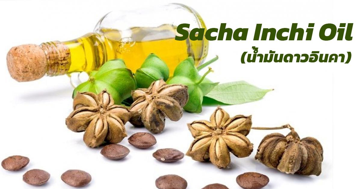 Sacha Inchi Oil (น้ำมันดาวอินคา)